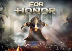 Sony Playstation PS4 game, For Honor.