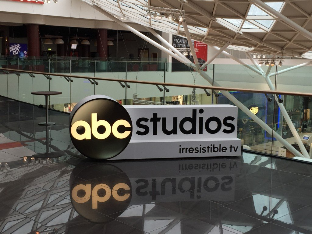 Large 3D Logo for ABC Studios
