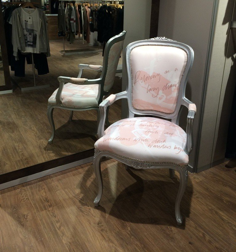 Bespoke Chair for Shop Interior