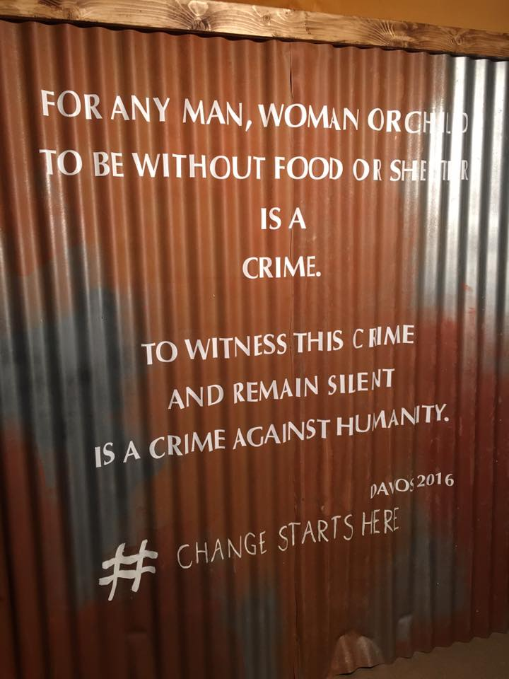 quote on wall