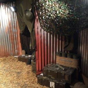 tin shed set