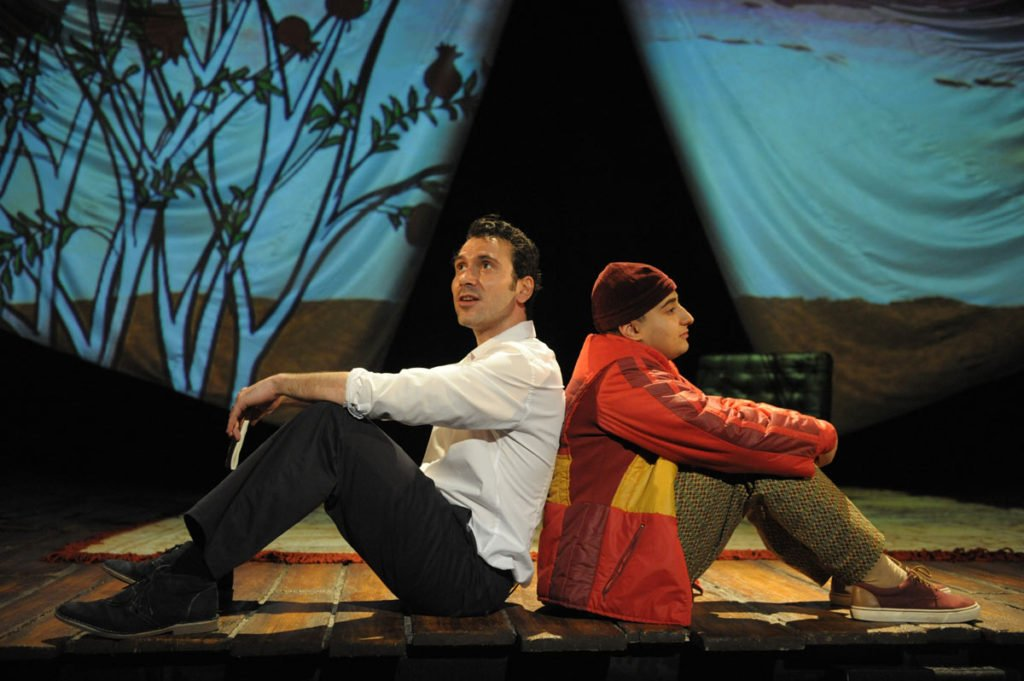Set for The Kite Runner Theatre Show